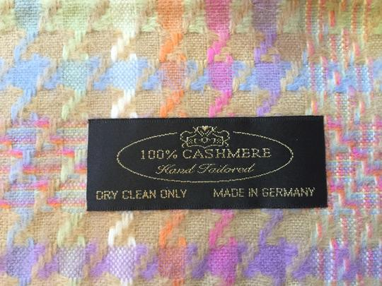 German Hand Tailored Pastel Cashmere Scarf