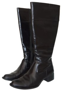 Børn Classic Leather Riding Comfortable Black Boots
