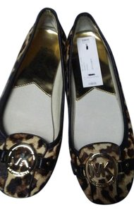 Michael Kors Brown print Flats