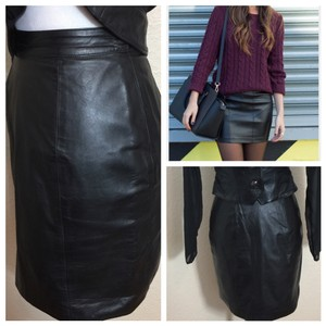 Byrnes & Baker Mini Skirt Black