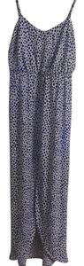 Print/blue and white Maxi Dress by Susana Monaco