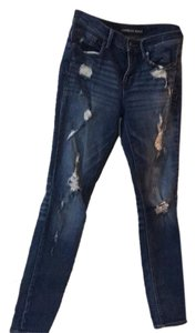 Express Jeggings-Distressed