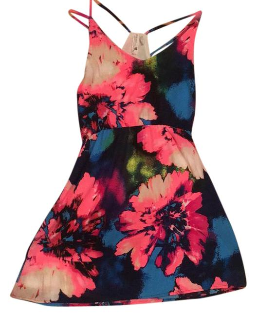 Item - Multicolor Unknown Above Knee Short Casual Dress Size 4 (S)