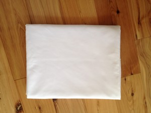 White Table Cloth - 8 Ft Rectangle