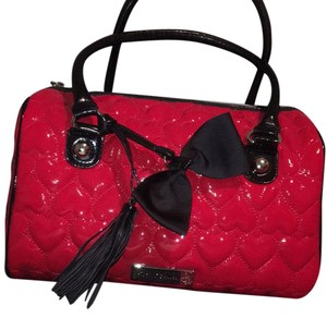 Betsey Johnson Tote in Red