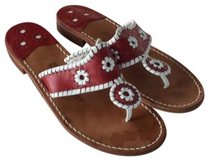 Jack Rogers red Sandals