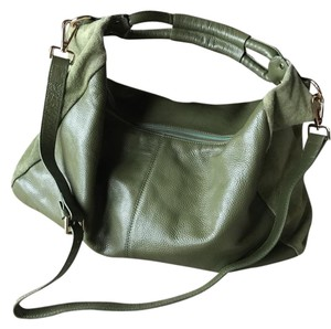 Maxine of Hollywood Leather Suede Hobo Bag