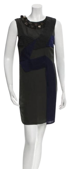 Preload https://img-static.tradesy.com/item/20423521/proenza-schouler-grey-and-navy-pleat-ribbon-shift-short-cocktail-dress-size-2-xs-0-3-650-650.jpg