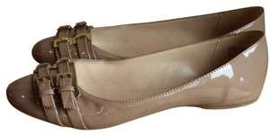 Nine West Nude Natural Beige Flats