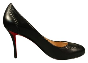 Christian Louboutin New Round Toe Classic Style Black Pumps