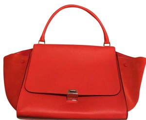 Céline Tote in Red/poppy