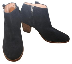 Madewell Navy Boots