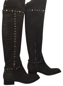 Tory Burch Black Suede Boots