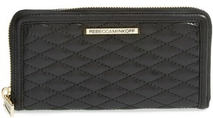 Rebecca Minkoff Rebecca Minkoff New Ava Quilted Leather Zip Wallet