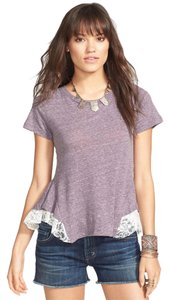 Free People Lace Peplum Boho Festival Tunic