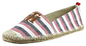 Tommy Hilfiger Red Striped Flats