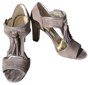 Coach taupe Pumps