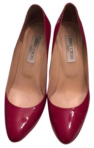 Jimmy Choo raspberry Pumps