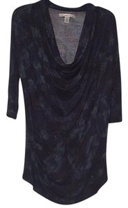 Kenneth Cole Top Black, green and blue