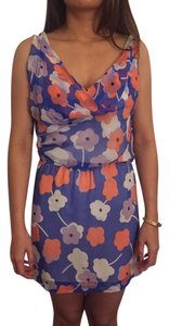 Diane von Furstenberg short dress Silk Floral on Tradesy