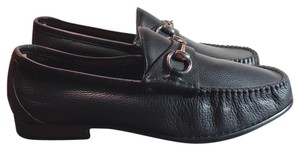Gucci Men Brown Loafers Horsebit Mocasines Sale Cleareance black Flats