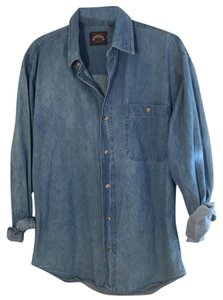 Saratoga Casual Button Down Shirt Denim