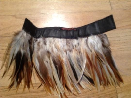 Feathers Divine Set Of 2 Natural Feather Bracelets