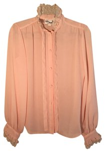 Frere Jacques Unique Ruffle Top Blush Pink