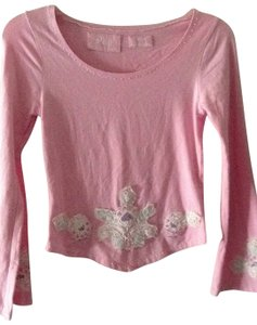 Phyl Embroidered T Shirt light pink