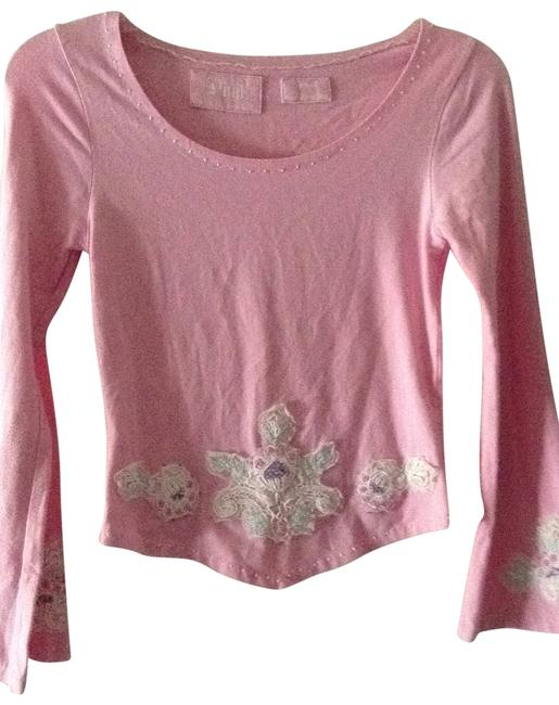 Preload https://item5.tradesy.com/images/light-pink-tee-shirt-size-4-s-204244-0-0.jpg?width=400&height=650
