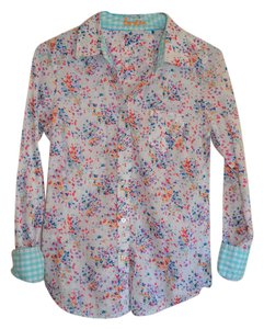 Boden Button Down Shirt Multi-color