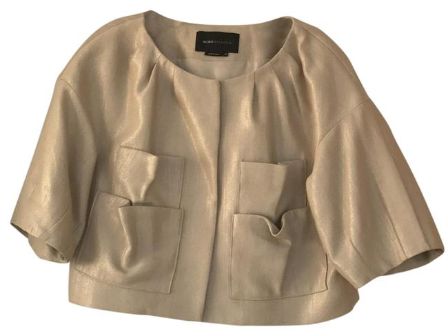 Item - Tan Cropped Jacket Size 10 (M)