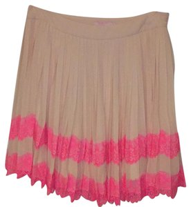 Ted Baker Skirt Nude and pink