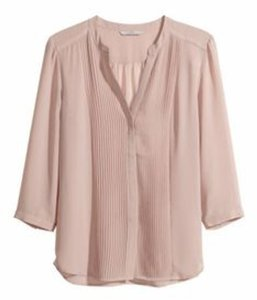 H&M Top Blush Pink