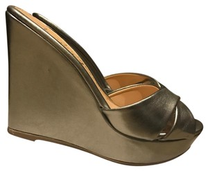 Sergio Zelcer silver Wedges