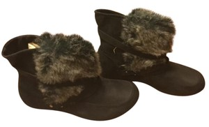 MIA Winter Fur black Boots