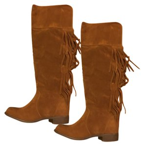 Forever 21 Moccasins Tribal Western brown Boots