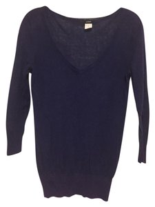 J.Crew V-neck Indigo Sweater