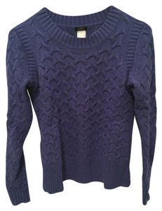 J.Crew Cable Knit Honeycomb Sweater