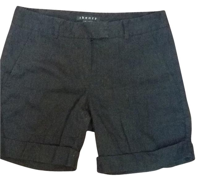 Theory Cuffed Shorts Blac