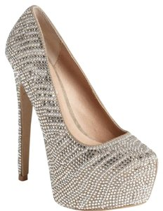 Steve Madden Silver, Gray Pumps