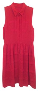 Sachin + Babi short dress Red on Tradesy