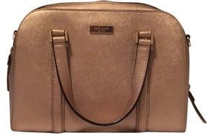 Kate Spade Satchel in Rose Gold