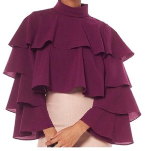Gracia Top Burgundy