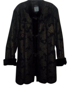 Dennis Basso Warm Stand Up Collor Coat