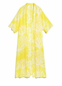 Lilly Pulitzer Lilly For Target Satin Kimono Cape