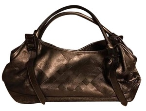 Burberry Tote in Brown Metallic