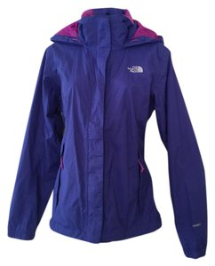 The North Face Waterproof Waterproof Purple Jacket