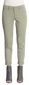 Vince Boyfriend Pants light olive green (Balsam)