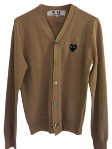 COMME des GARONS Wool Heart Cardigan